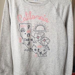 Old Navy California Gray Sweatshirt NWT!